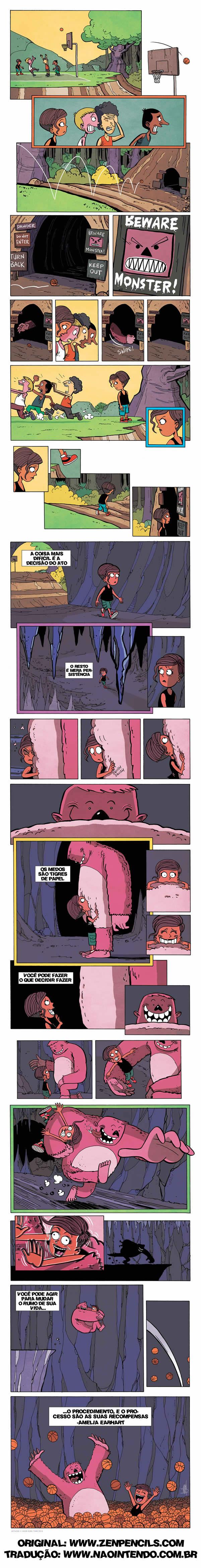 Enfrente o bicho-papão no seu armário!
