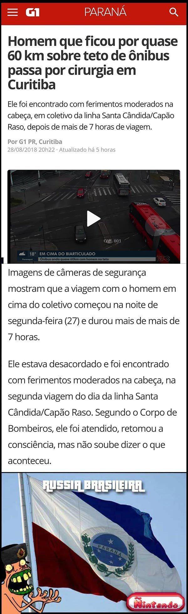 O Paraná Não Cansa De Surpreender