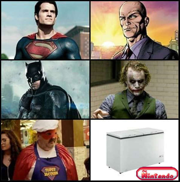 Todo Super Herói Tem Seu Nêmesis