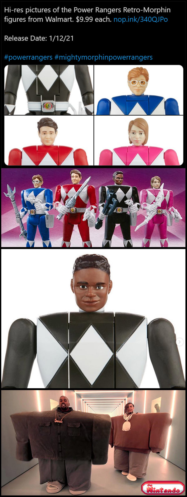 Vocês Se Lembram Dos Bonecos Dos Power Rangers?