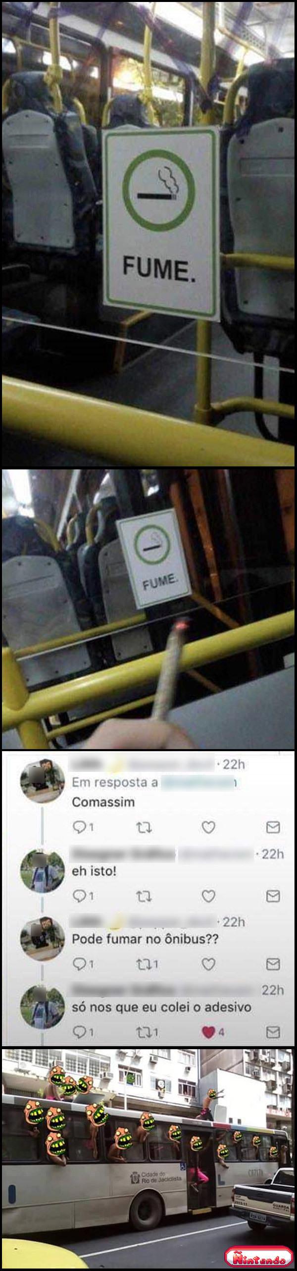 Permissão Para Fumar