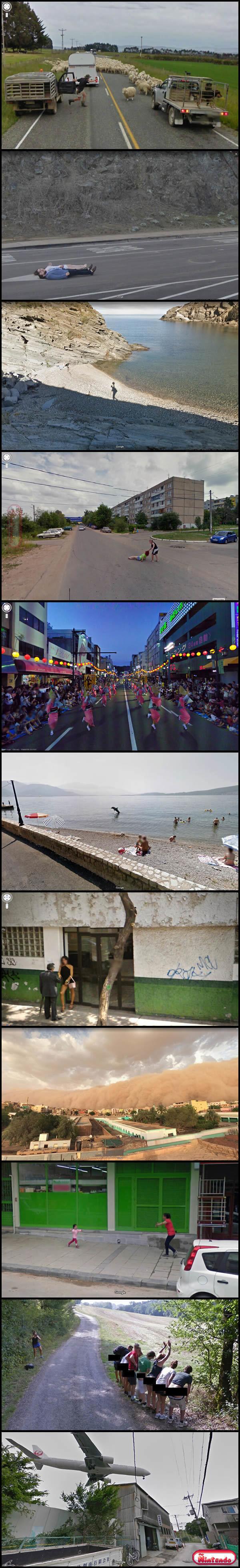 Imagens Surpreendentes De 2021 Do Google Street View
