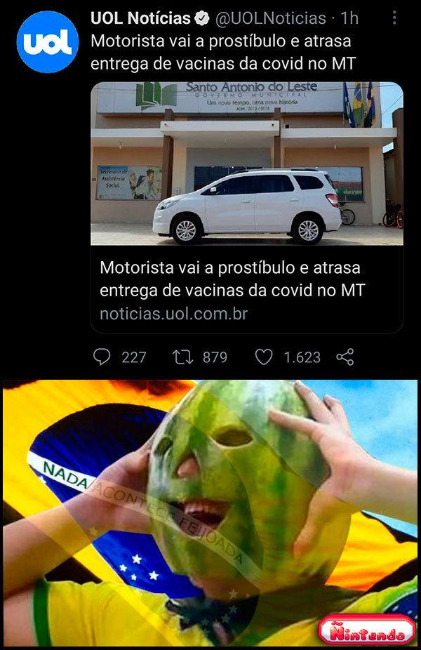 Enquanto Isso, No Mato Grosso