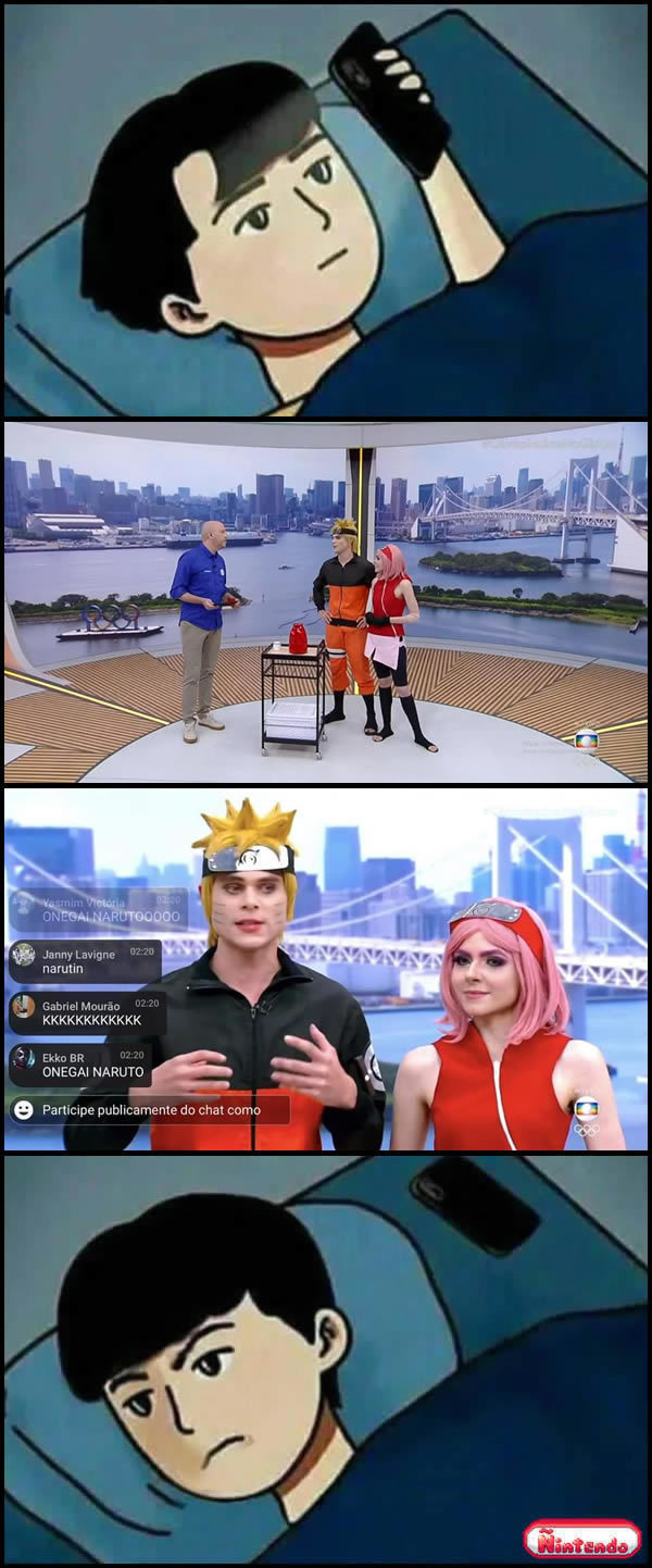 Agora a Globo Ama Anime