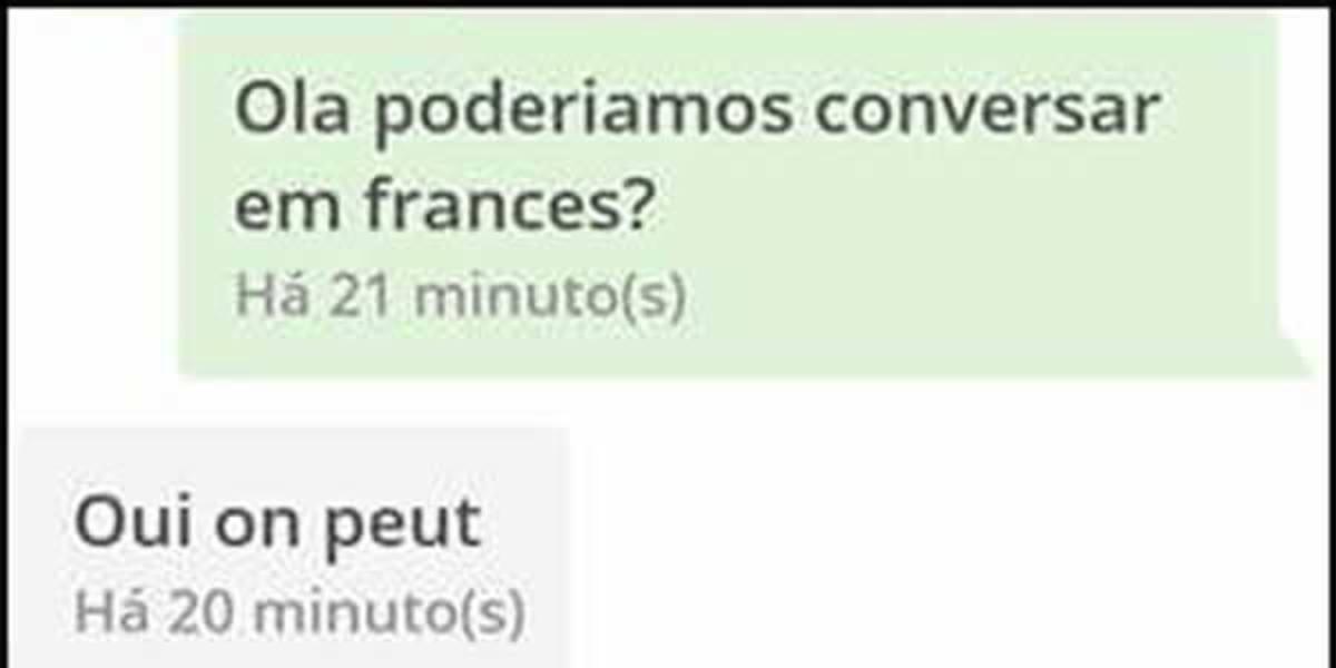 Falando Frances - Não Intendo